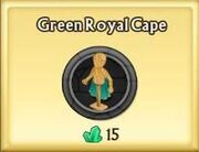 Green Royal Cape