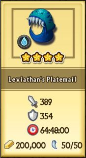 Leviathan's Platemail is craftable now2