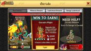 Garuda Level 15 Stats