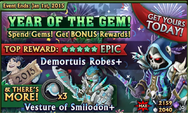 Year of the Gem Banner