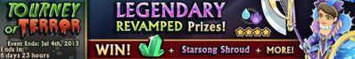 Tourney of Terror - Ended 4 Jul 2013