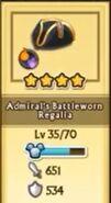 Admiral's Battleworn Regalia