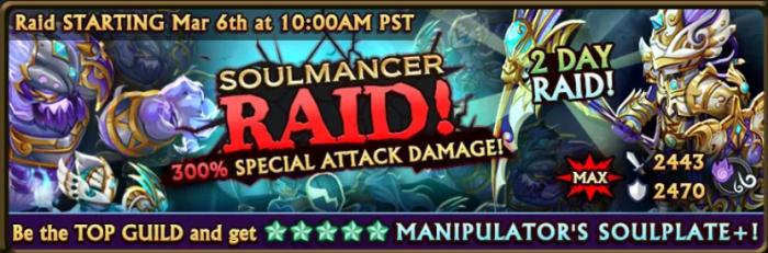 Soulmancer Raid Banner