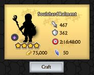 Soulshard Raiment is Ready to be Crafted