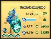 Maelstrom Irons plus hits 99