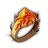 Spectral Elite-Flame Eruption (Ring)