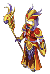 Living Flame Armor