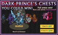 Blackfrost Raiment from the Dark Prince's Chest
