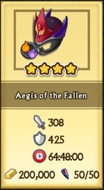 Aegis of the Fallen can be crafted2