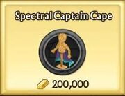 Spectral Captain Cape