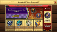 Rewards for Regular Version