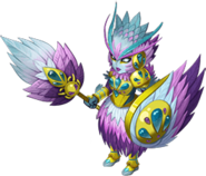 Feathered wyrmhide