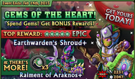 Gem of the Hearts Banner