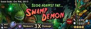 Swamp Demon Banner