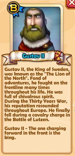 Gustav II Text