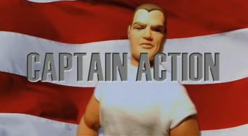 Captain Action Title