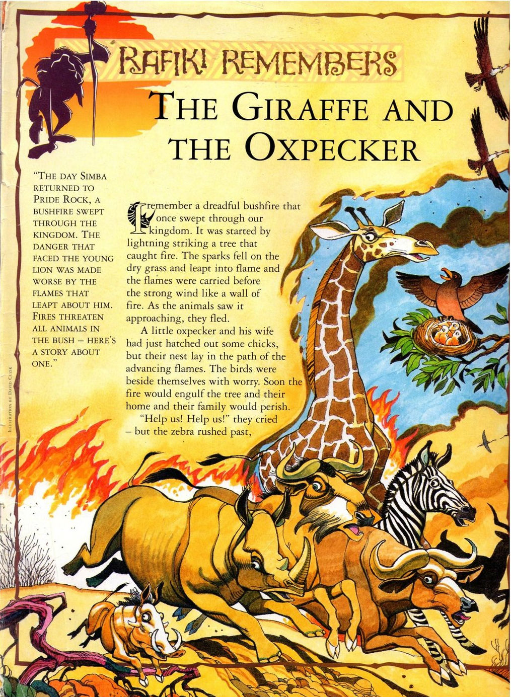 The Giraffe and the Ox...