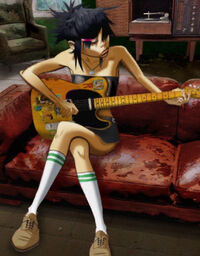 Noodle with Guitar
