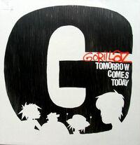 Gorillaz tomorrow 12vinyl cover big