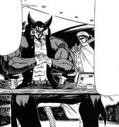 Takeshi with Kenji
