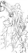 Haruka taking a shower