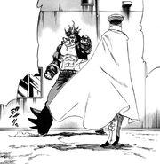 Homuraya facing Kenji