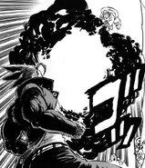 Enjou brother using flamethrower