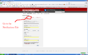 How to stop Kongregate linking to Facebook step 3