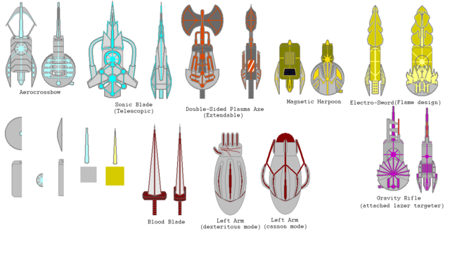 File:Cybora Weapons.png