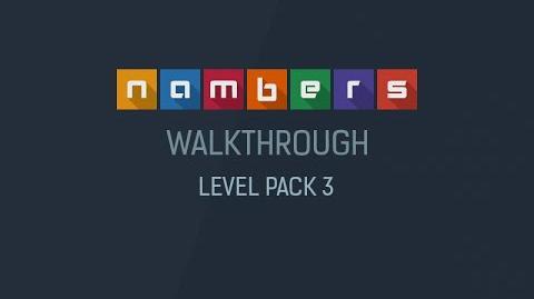 Nambers - Walkthrough Level Pack 3-0