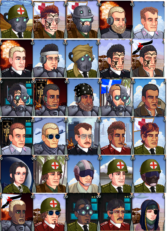 Battalion Arena Avatars