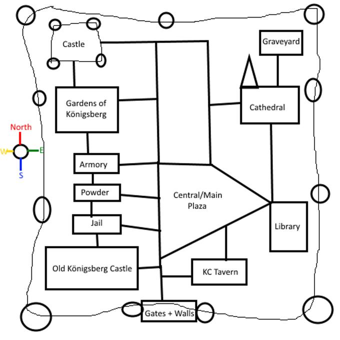 Königsberg Map Large