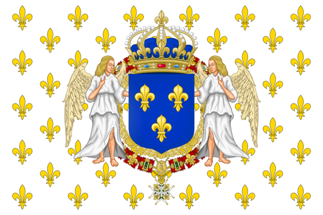 File:800px-State flag of the Kingdom of France svg.png