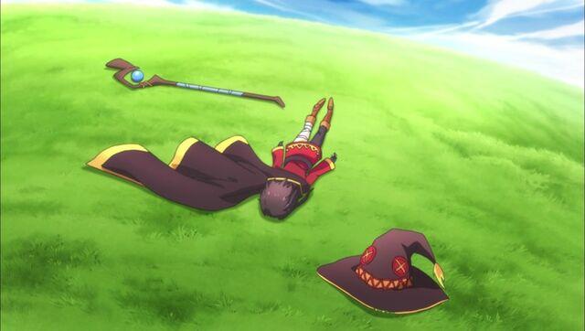 File:Konosuba - Megumin Collapsed.jpg
