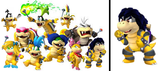 File:Jinkesse with the koopalings (including Dolly and Tim).png