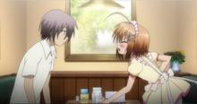 Haruna's 'dere'