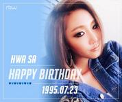 Hwa Sa Birthday Post Twitter