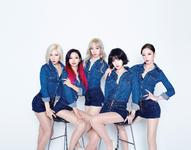 GIRLS GIRLS debut group photo
