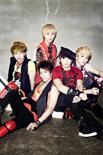 SHINee Lucifer (Japanese ver.) group promo photo