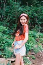 OH MY GIRL Hyojung A-ing photo