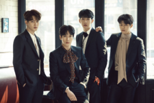 CNBLUE Blueming group photo
