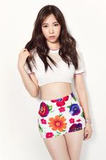 AOA Mina Short Hair photo