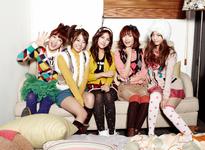 Kara Pretty Girls group photo