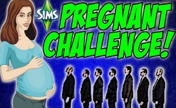 The Sims 3 Pregnant Challenge