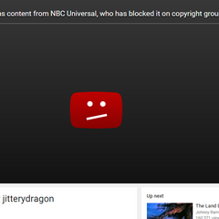NBCUniversal taking down a clip from one of the films that they own