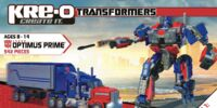 Instructions Optimus Prime