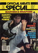 Official Karate Special 1987
