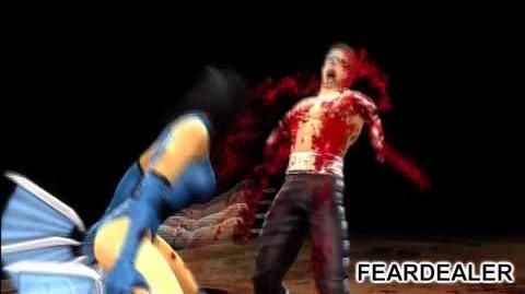 Mortal Kombat (2011) Klassic MK2 Kitana Fatalities