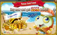 Bonus Gold - Sushi Salmon