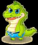 SwampCrocodileBaby